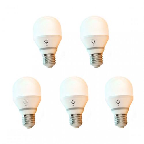 LIFX White to Warm E27 Wifi Lamp 5-pack