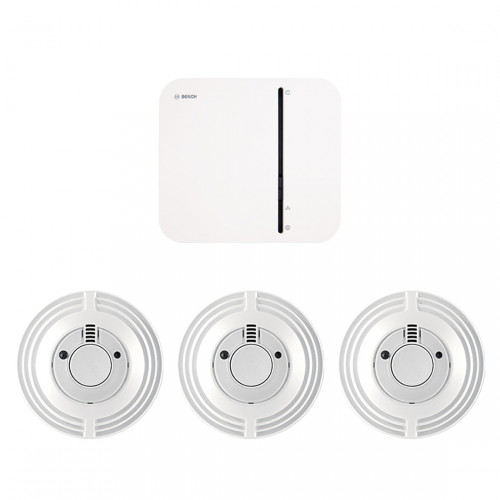 Bosch Smart Home Controller + 3x Rookmelder