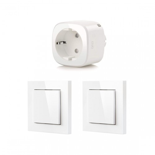 Eve Light Switch 2-pack + Eve Energy