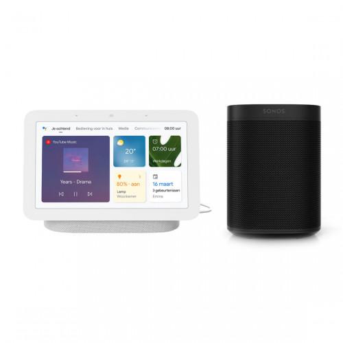 Sonos One + Google Nest Hub (Gen. 2)
