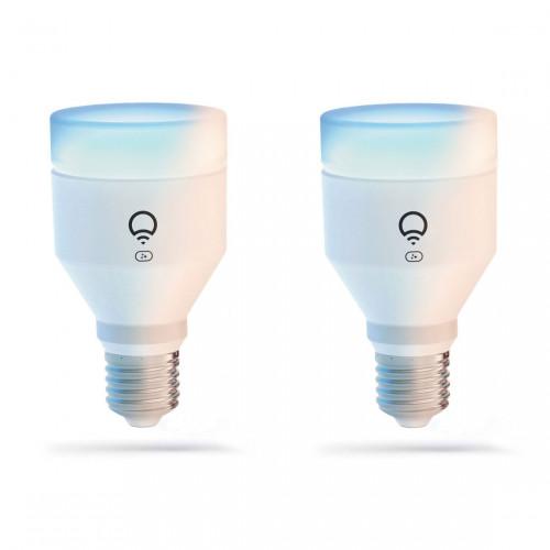 LIFX E27 Clean A19 Color Lamp 2-pack