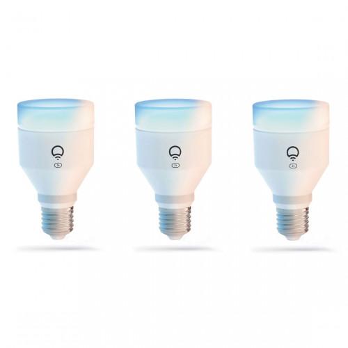 LIFX E27 Clean A60 Color Lamp 3-pack