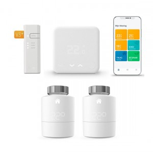 tado° Thermostaat Starter Kit V3+ + Radiator Thermostaat (2-pack)