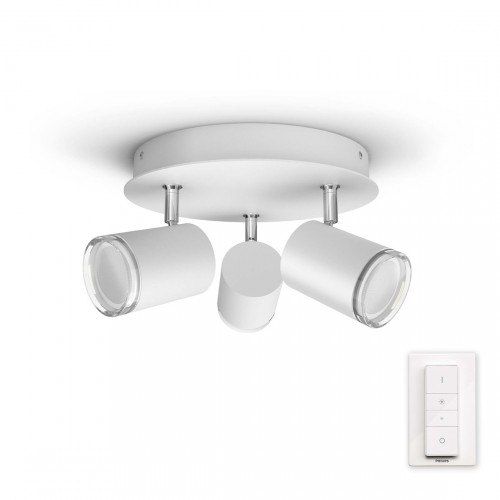 Philips Hue Adore 3-lichts Ronde Badkamerspotlamp