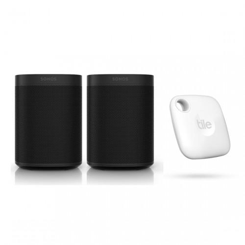 Sonos One Stereo Set + Tile Mate (2022)
