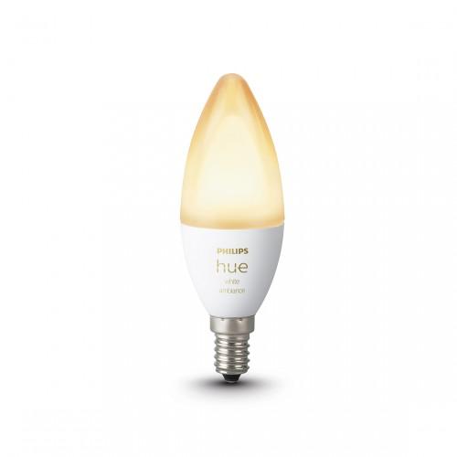 Philips Hue White Ambiance E14 Bluetooth Led Lamp