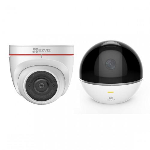EZVIZ C4W Outdoor Camera + C6TC Indoor Camera
