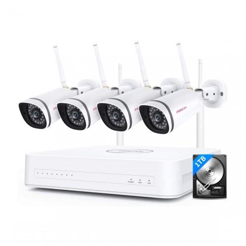 Foscam FN7104W IP Camera Set