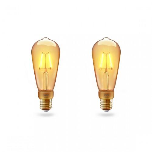 Innr Filament RF 264 2-pack - Slimme E27 Vintage Edison Lamp
