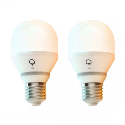 LIFX E27 White to Warm Wifi Lamp 2-pack