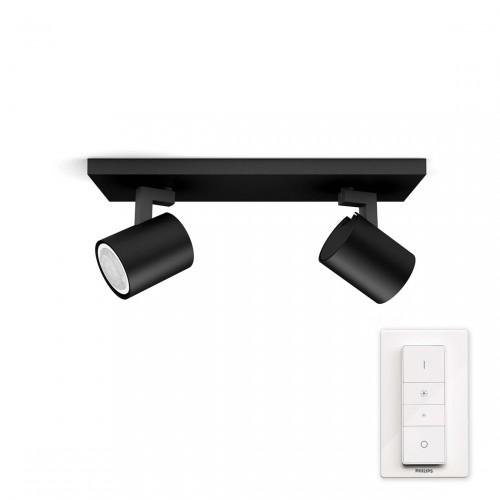 Philips Hue Runner 2-lichts Spotbalk incl Dimmer Switch