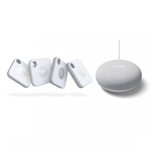 Tile Mate 4-pack + Gratis Google Nest Mini