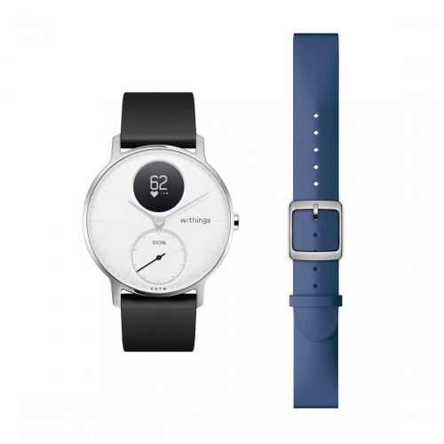 Withings Steel HR, 36mm + Extra Horlogebandje 18mm