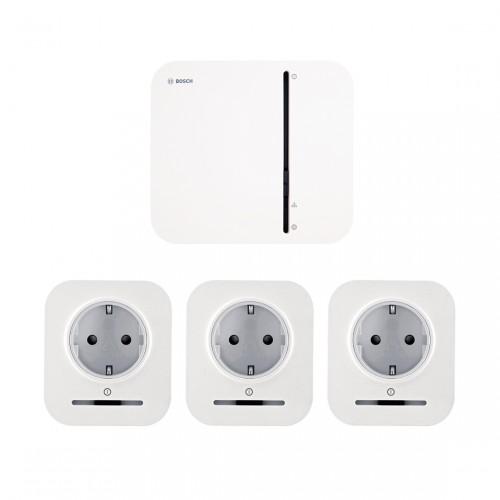 Bosch Smart Home Controller + 3x Slimme Stekker
