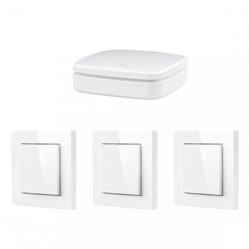 Eve Light Switch 3-pack + Eve Extend