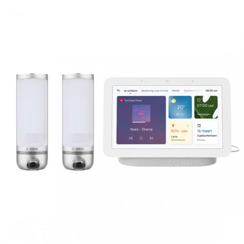 Bosch Smart Home Eyes 2-pack + Google Nest Hub (Gen. 2)