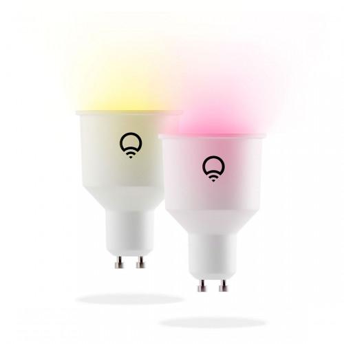 LIFX Color & White GU10 Slimme Spot 2-pack
