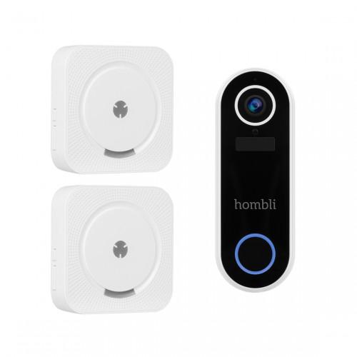 Hombli Smart Doorbell 2 + Chime Deurgong 2-pack