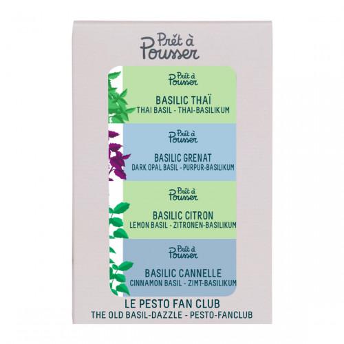 Prêt à Pousser Pack Basil - Kruiden voor Indoor Garden
