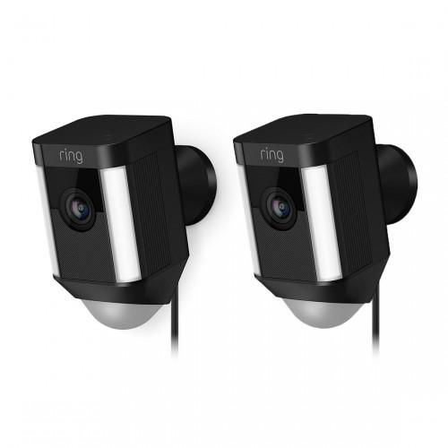 Ring Spotlight Cam Wired Beveiligingscamera 2-pack