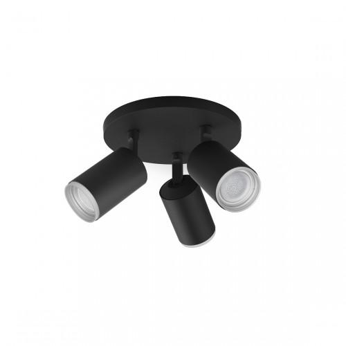 Philips Hue White & Color Ambiance Fugato 3-lichts spotbalk