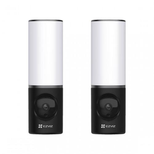 EZVIZ LC3 Floodlight Camera 2-pack