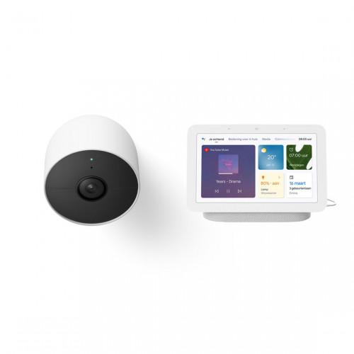 Google Nest Cam + Google Nest Hub (Gen. 2)