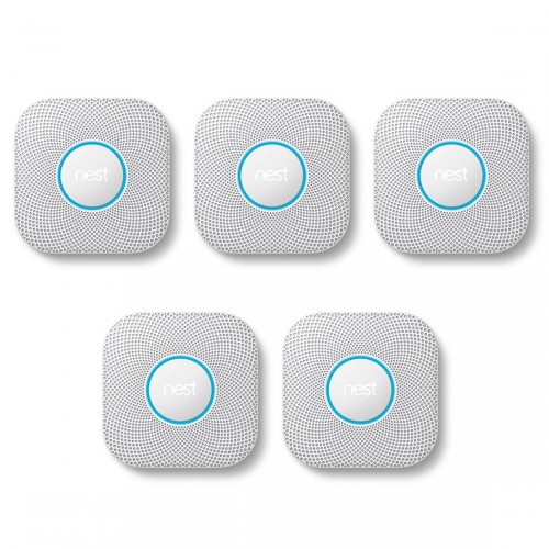 Google Nest Protect Bedraad 5-pack