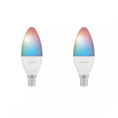 Hombli Smart Bulb E14 Colour 1 + 1 Gratis