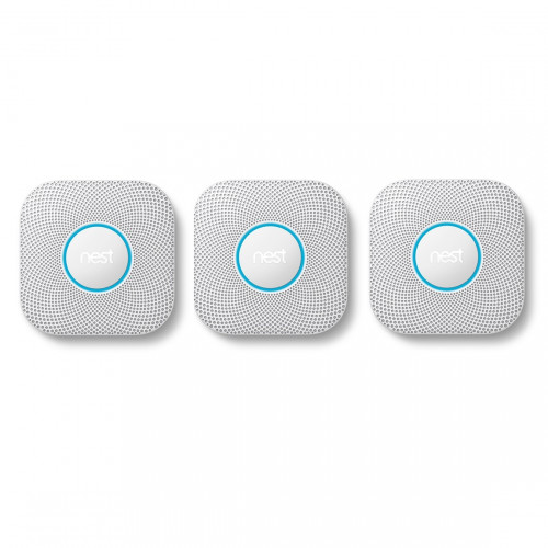 Google Nest Protect Bedraad 3-pack