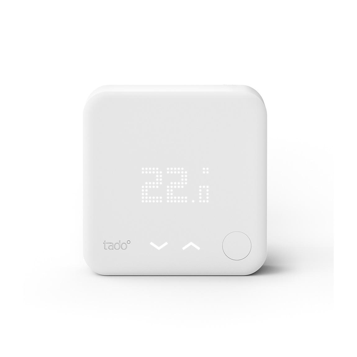 Met een extra tado° slimme thermostaat kun je bij je thuis een multizone verwarmingssysteem instellen en de ...