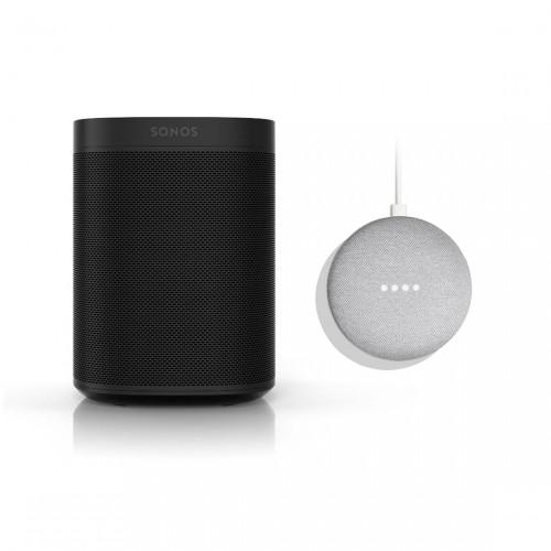 Sonos One SL + Google Nest Mini