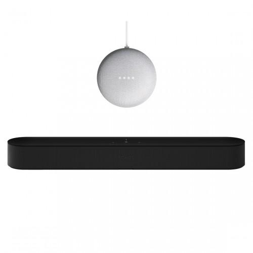 Sonos Beam + Google Nest Mini