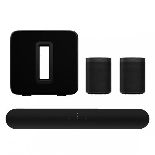 Sonos One Beam 5.1 Heimkino Set