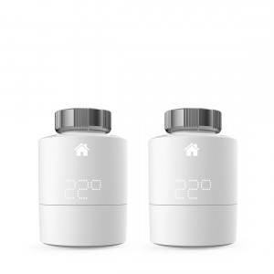 tado° Smartes Heizkörper-Thermostat - Duo Pack, Zusatzprodukte für Einzelraumsteuerung, intelligente Heizungssteuerung