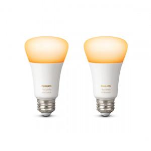 Philips Hue White Ambiance E27 Bluetooth Ledlampen 2-pack