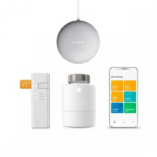 tado° Slimme Thermostaat Starter Kit V3+ + Google Nest Mini