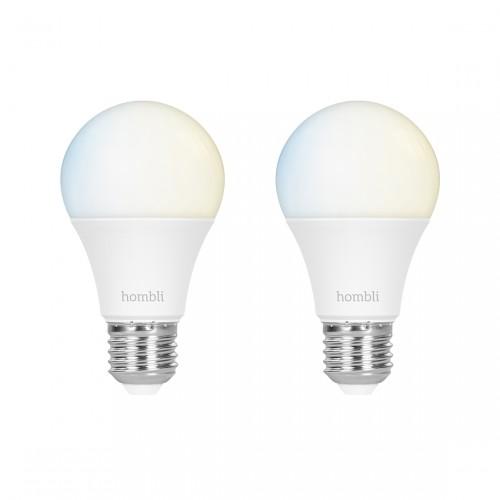 Hombli Smart Bulb E27 White 2-pack