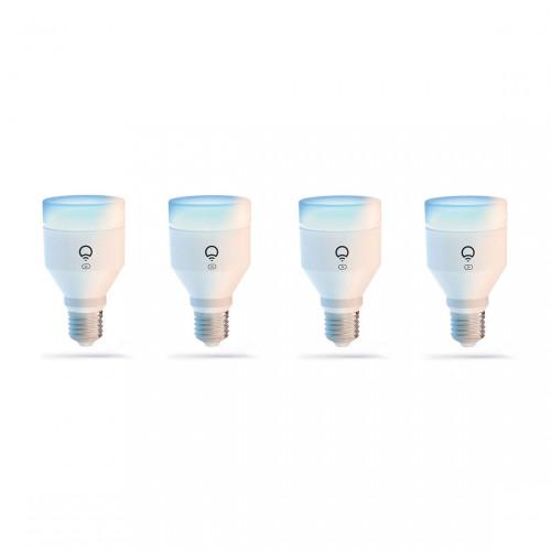 LIFX E27 Clean A60 Color Lamp 4-pack