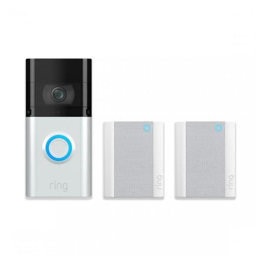 Ring Video Doorbell 3 Plus + 2x Chime Gen. 2