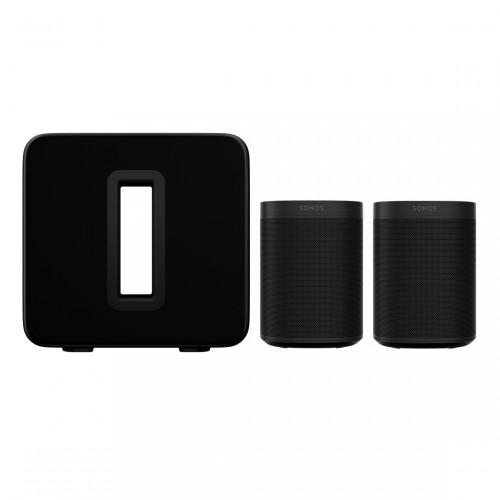 Sonos One SL Stereo Set + Sonos Sub (3. Gen)