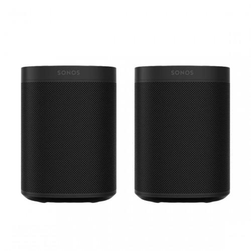 Sonos One Stereo Set - Slimme speaker met spraakbesturing