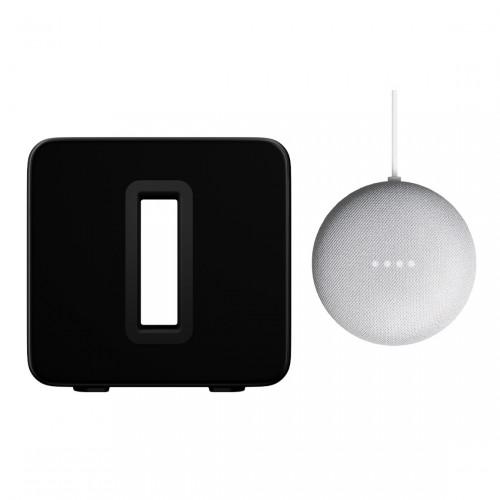 Sonos Sub + Google Nest Mini