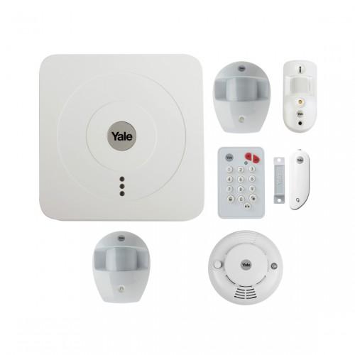 Yale Alarmsysteem Camera Kit SR-3200i + Bewegingssensor + Rookmelder