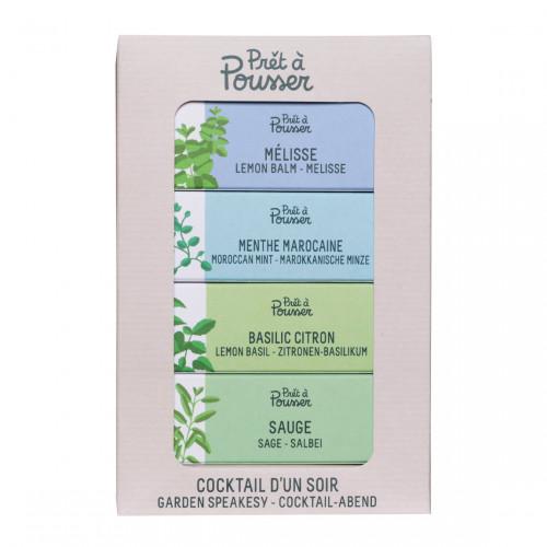 Prêt à Pousser Pack Homemade Cocktail - Kruiden voor Indoor Garden