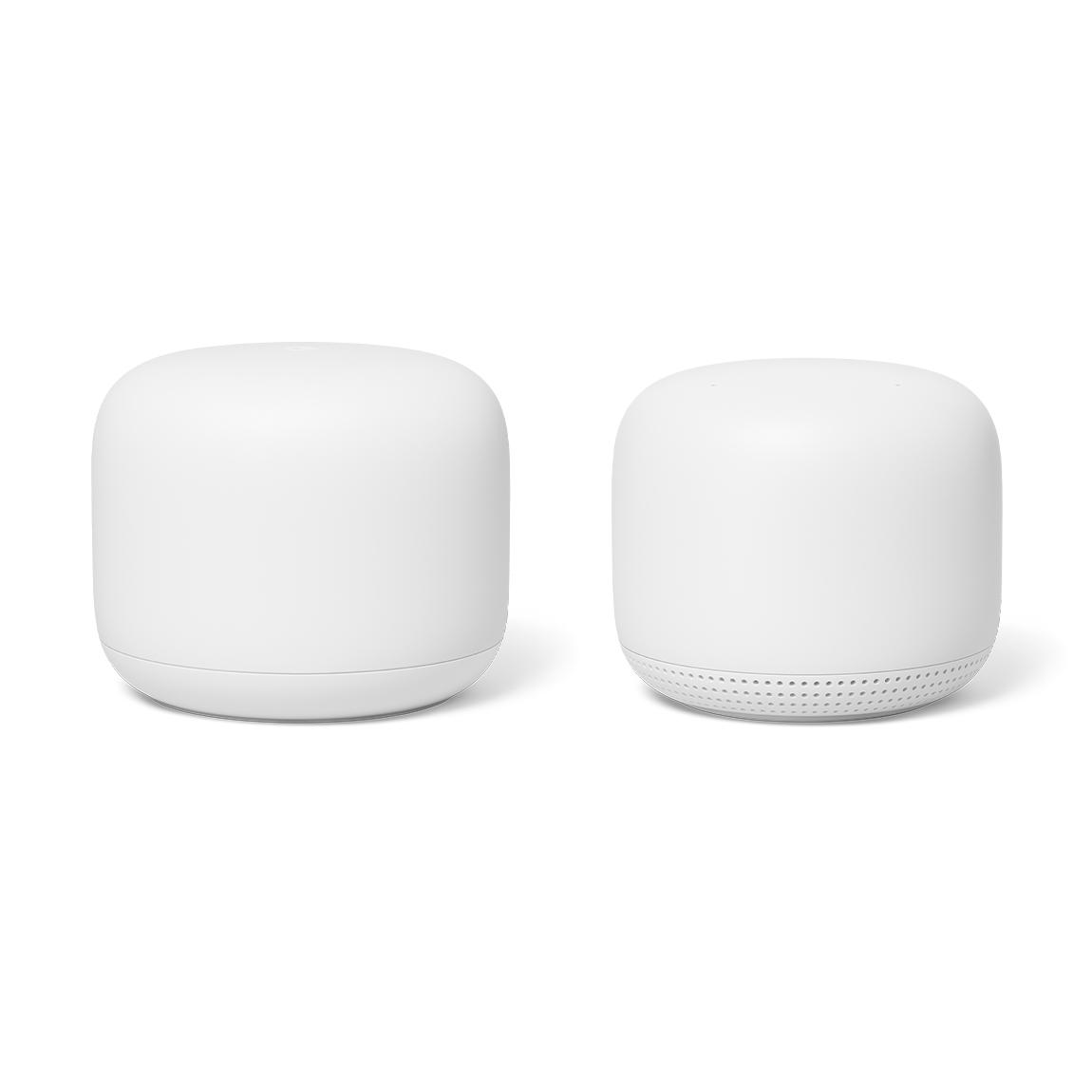 Google Nest Wifi 2 pack 1 Router en 1 Access Point