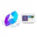 Nanoleaf Light Panels Smarter Kit 9-pack + Google Nest Hub
