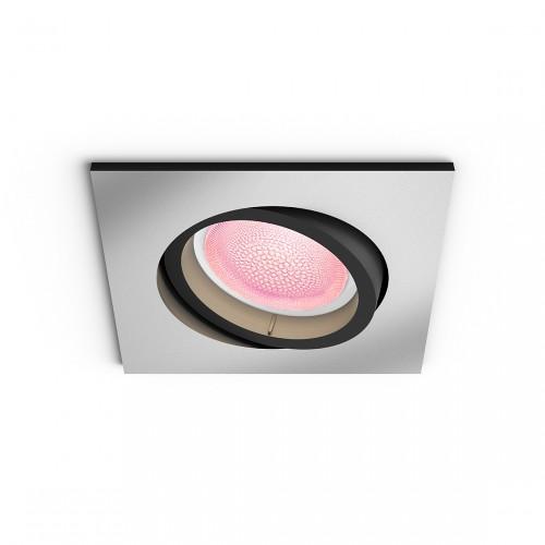Philips Hue White & Color Ambiance Centura Bluetooth - Vierkante Inbouwspot
