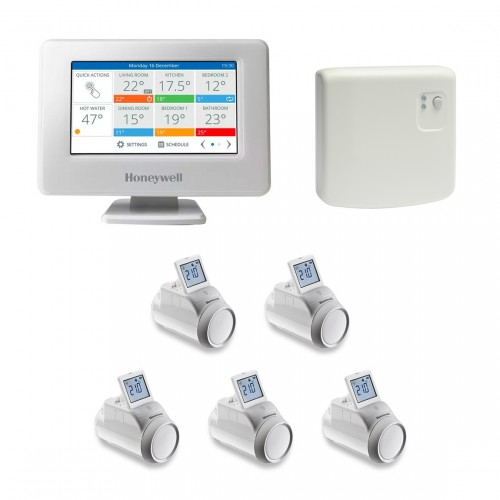 Honeywell Home evohome Console + HR92 Radiatorthermostaat 3-pack