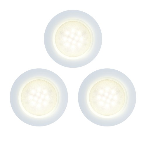 Innr Led Puck PL 115 3-pack - Slimme Plafondlampen + Control Box